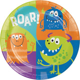 "Fun Monsters 9"" Dinner Plates"