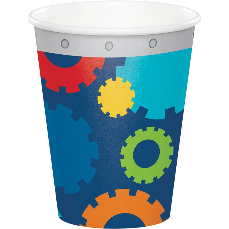 Party Robot  9 oz  Hot/Cold Cups