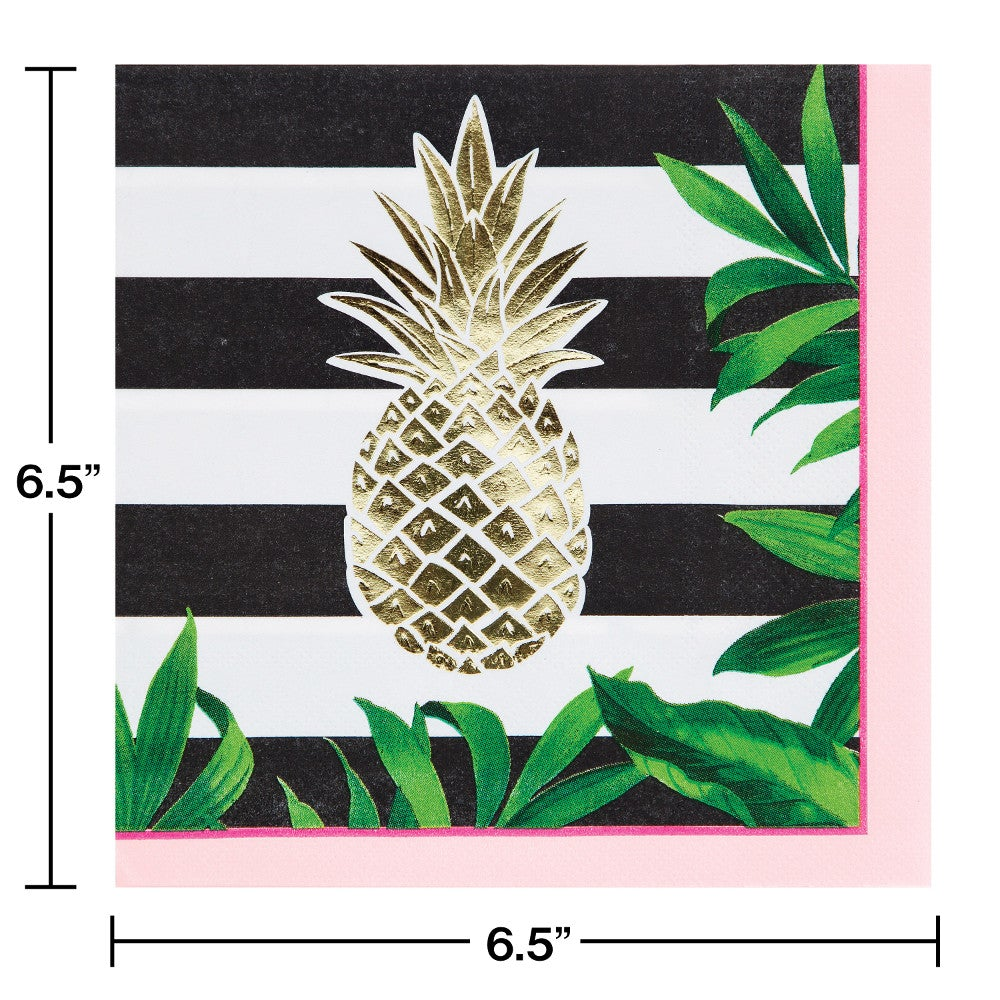 Pineapple Wedding 3-Ply Luncheon napkins