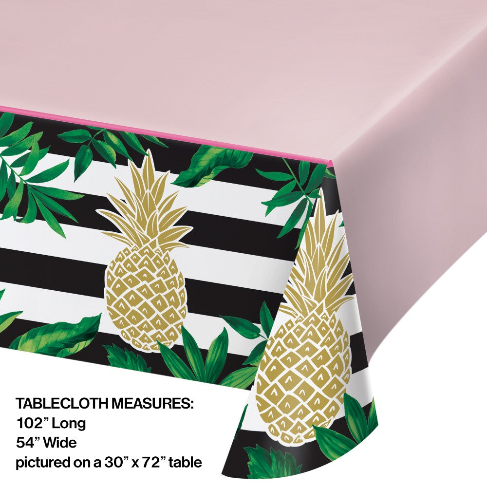 Pineapple Wedding Plastic Table