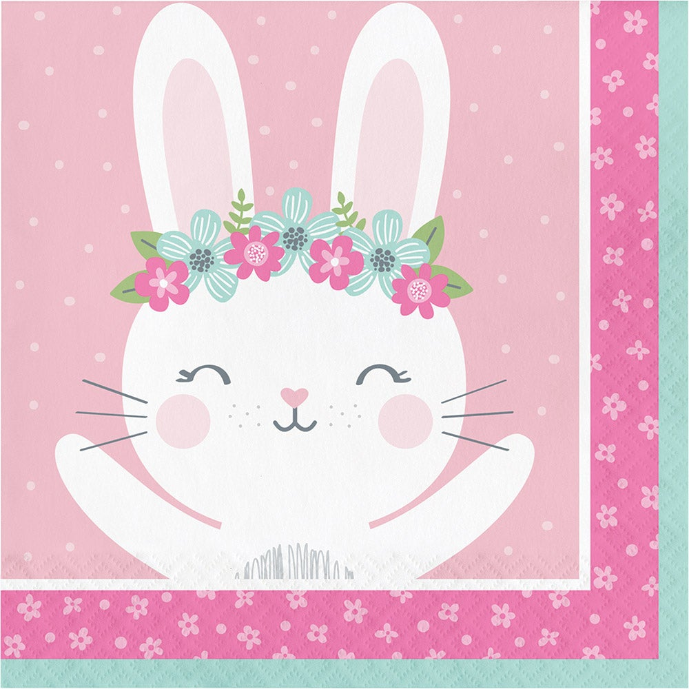 1st Year Bunny Lunch Napkins