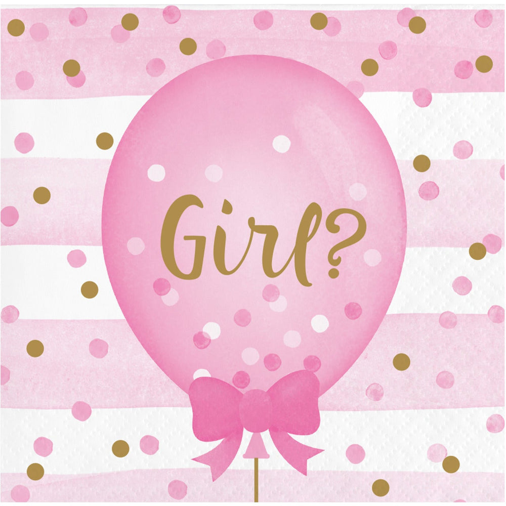 Gender Reveal B Bev Napkins