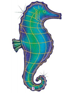 "36"" Holographic Seahorse"