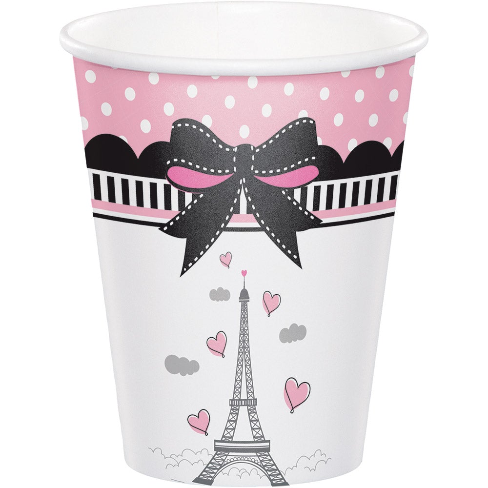 Party In Paris 9 Oz Hot/Cold Cup