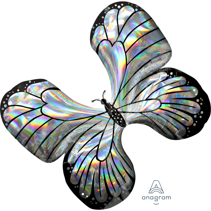 "30"" Iridescent Butterfly"