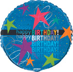 "18"" Cosmic Birthday Foil Balloo"