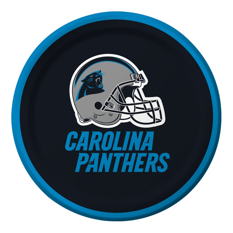 "Panthers 7"" Lunch Plates"