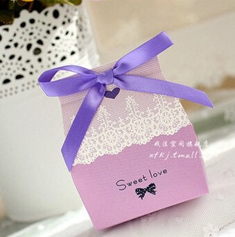 Sweet Love Wedding Favor Purple (36 counts)
