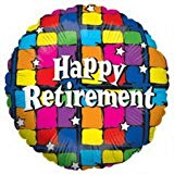 "18"" Happy Retirement Balloon"