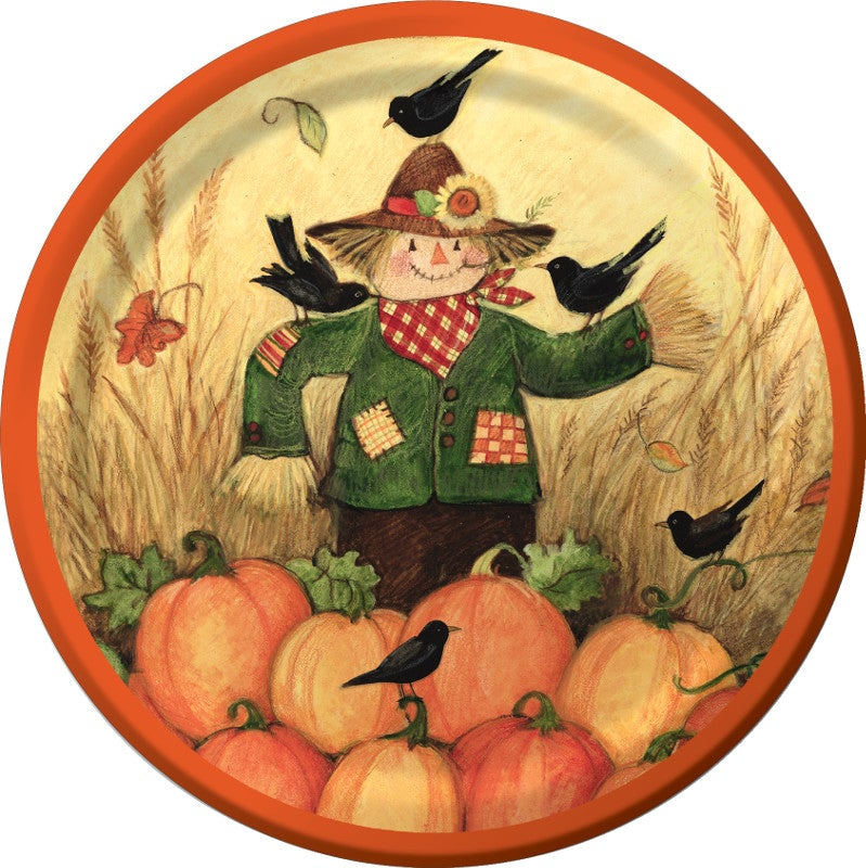 Fall Friends Dinner Plates