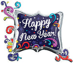 "34"" Happy New Year Foil Balloon"