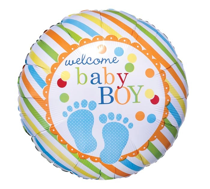 "17"" Welcome Baby Boy"