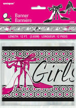 Girl Night Banner 12 Ft