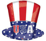 18 Inch Uncle Sam Top Hat Balloon