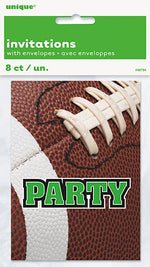 Football Invitations