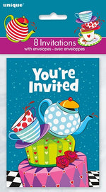 Mad Tea Party Invitations