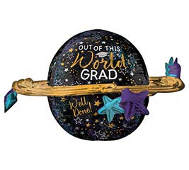 "29"" Graduation Out of this World Grad"