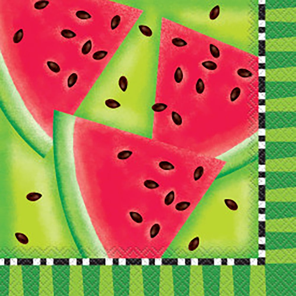 Summer Watermelon Lunch Napkins