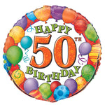 50Th Happy Birthday Balloon
