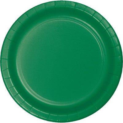 "Emerald Green 9"" Dinner Plates (8 counts)"