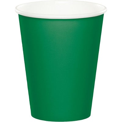 9 oz Hot/Cold Cups Emerald Green