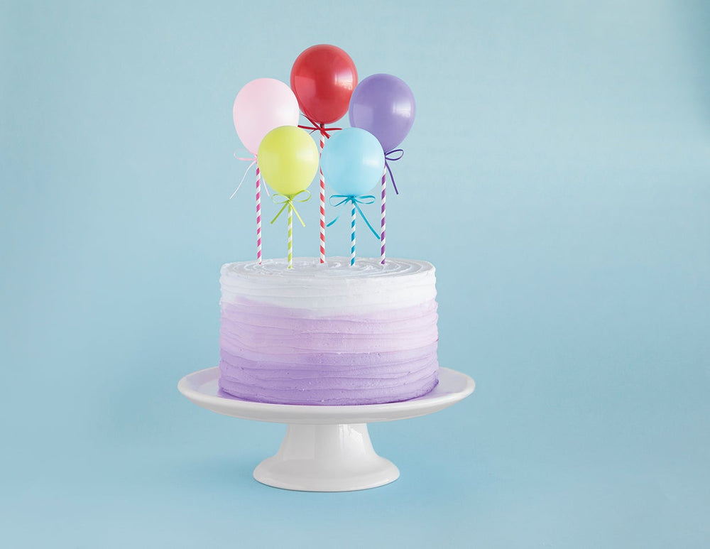 Cake Toppers Balloons (5 counts)