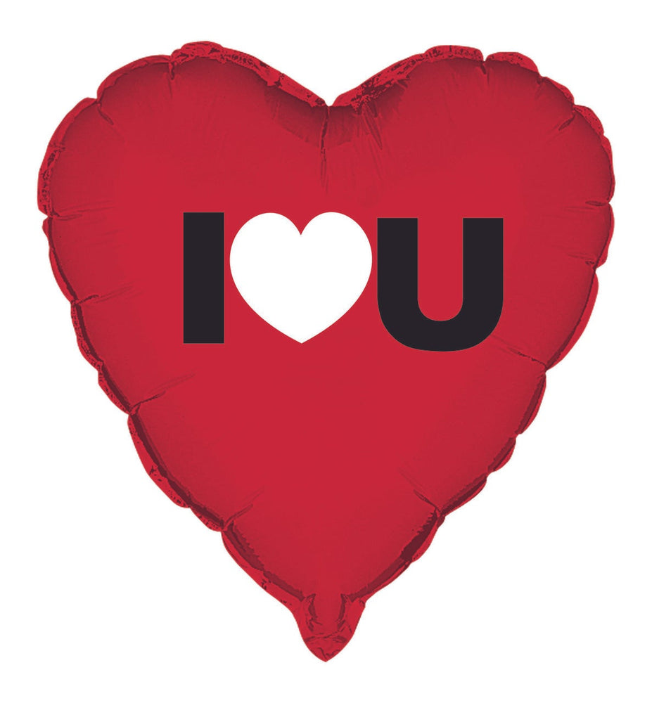 "18"" Heart I Love You Foil Balloon"