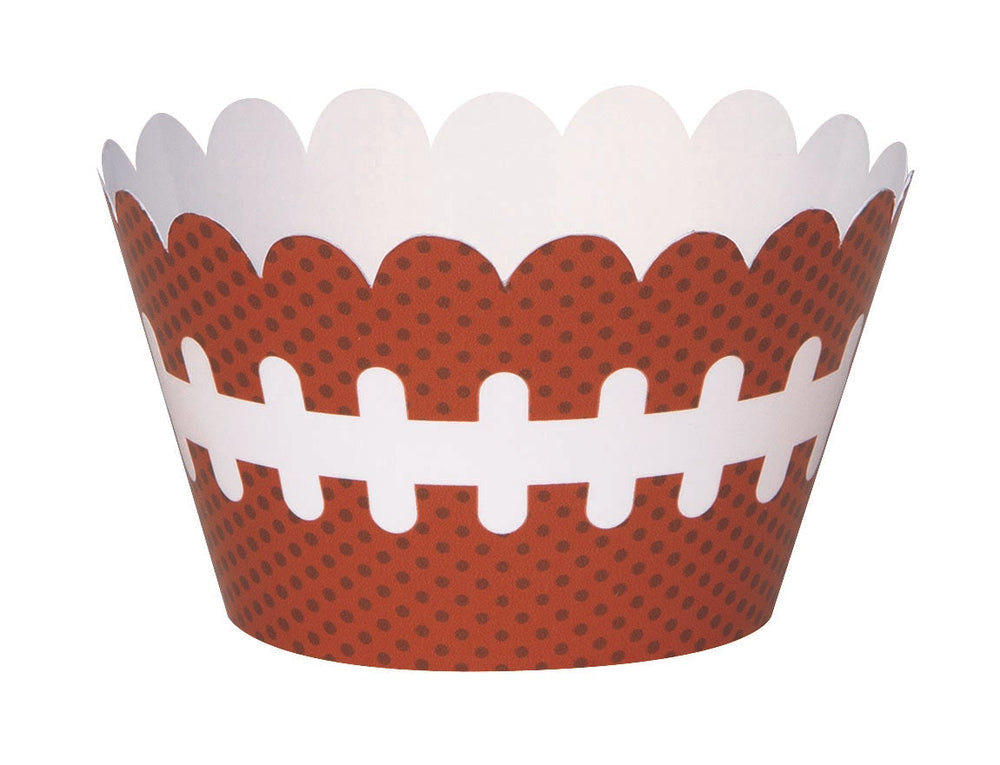 Football Cupcake Wrappers