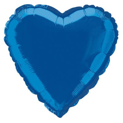 "Heart 18"" Metallic Balloon"