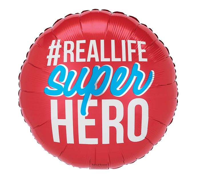 "18""#Reallife Super Hero Balloon"