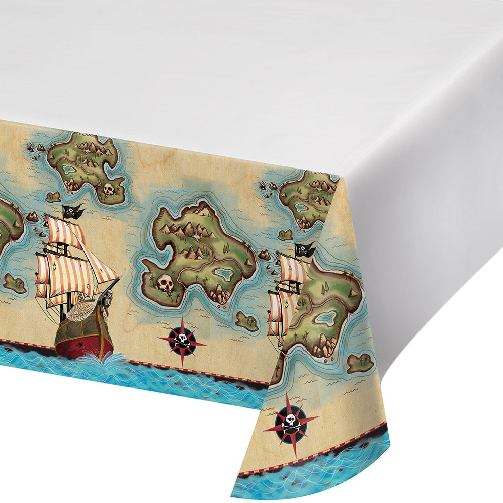 Pirates Map Plastic Tablecover