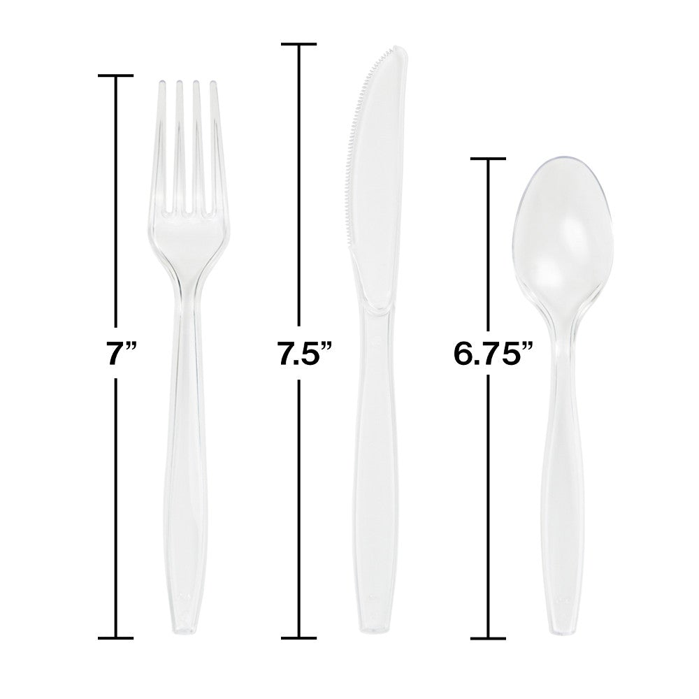 Translucent Assorted Cutlery