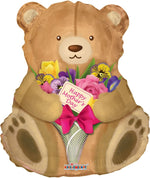 "36"" Mother Cuddly Teddy Bear Balloon"