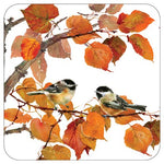Autumn Bird Lunch Plates
