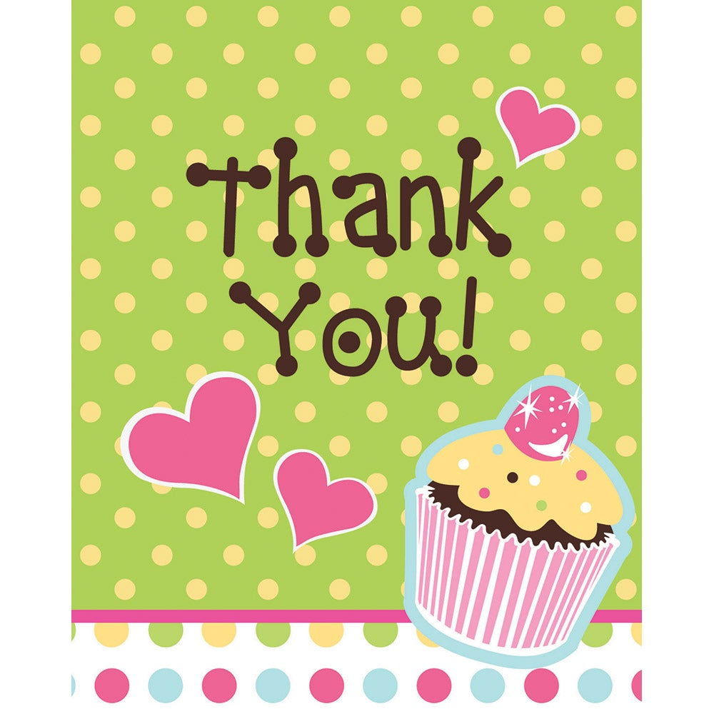Sweet Treats Thank You Note