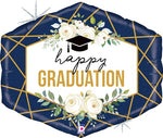 Shape Graduation Geo Navy