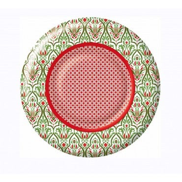 Rossane Back  - Amber Round Paper Dessert Plate