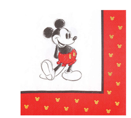 Papyrus Disney Collection Lunch Napkins