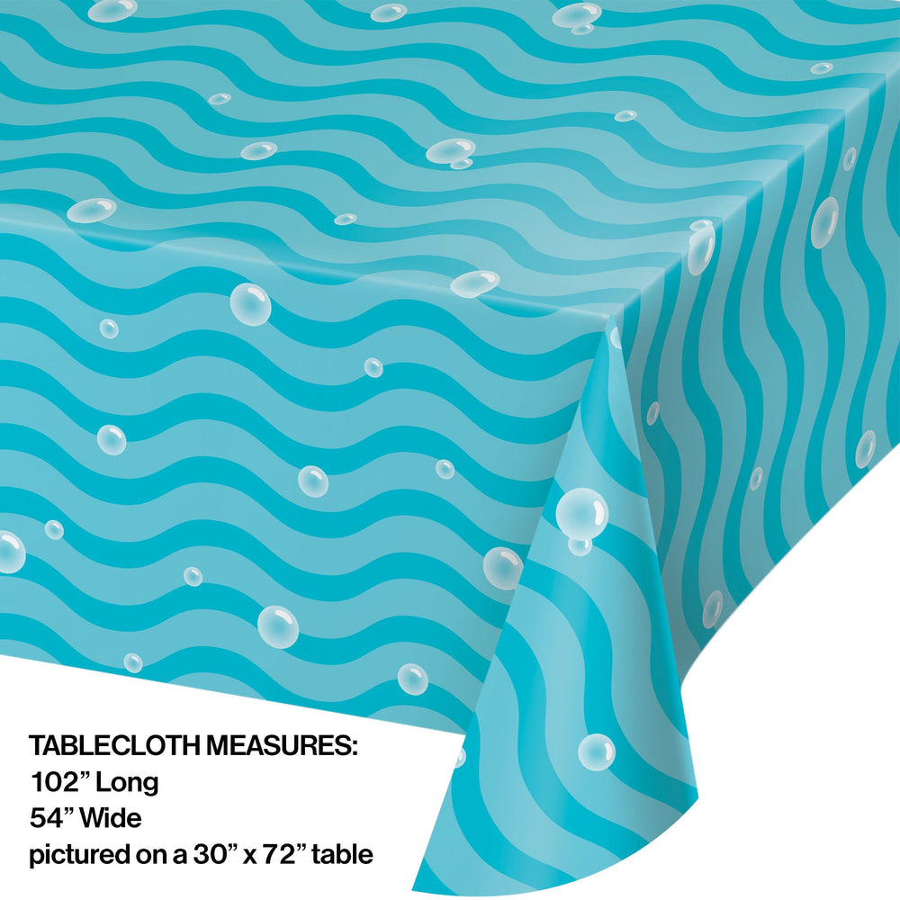 "Narwhale Party 54"" x 102"" Tablecover"