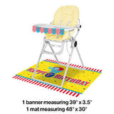 Circus Time Party High Chair Kit
