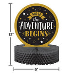 Grad Adventure Centerpiece Hc Shaped Creative Converting
