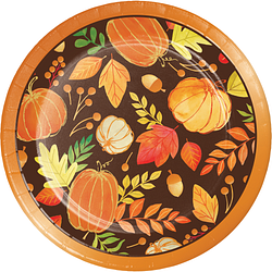 Give Thanks Plastic Lunch Plates