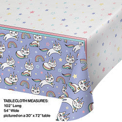 Sassy Caticon Tablecover