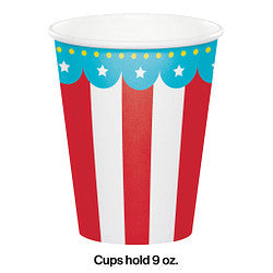 Circus Time Party 9 Oz Hot/Cold Cup
