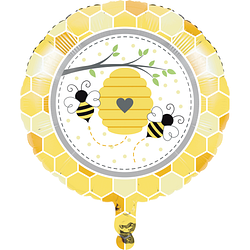 Bumblebee Baby Shower Mylar Balloon