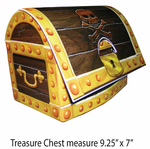 Pirates Map Buried Treasure Centerpiece
