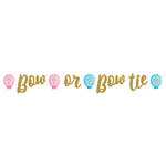 Gender Reveal  Giant Ribbon  Banner Bow or Bow Tie