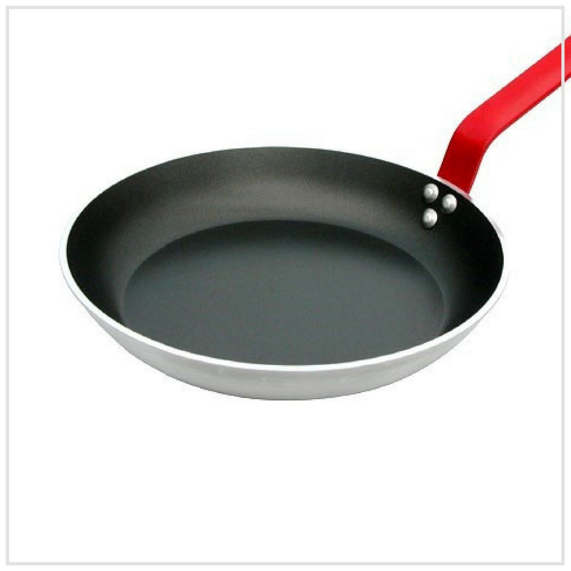 De Buyer Non Stick Frying Pan 28cm RED Handle