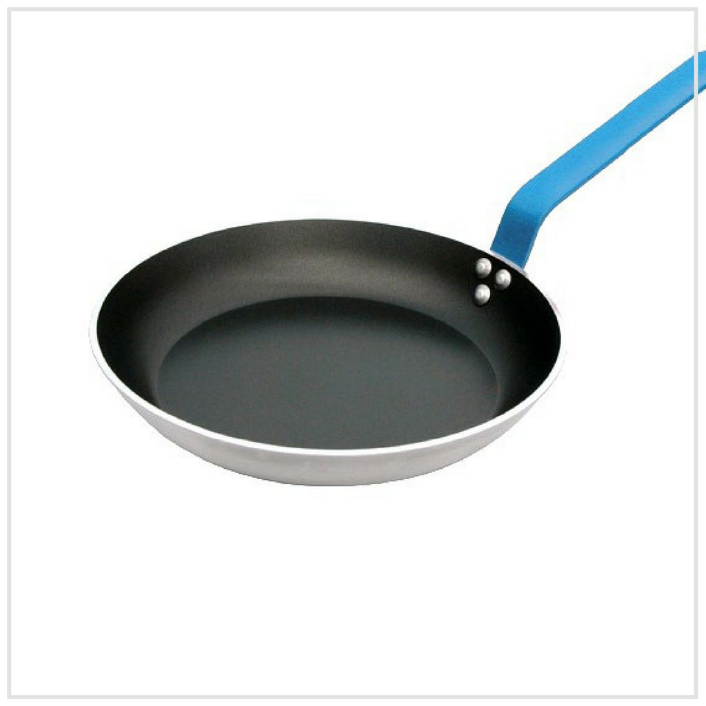 De Buyer Non Stick Frying Pan 20cm BLUE Handle