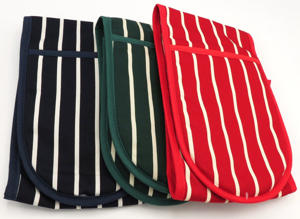 Rushbrookes Butcher Stripe Oven Glove